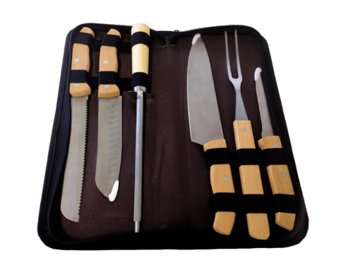 Kit Churrasco Grand Chef – 7 pçs.